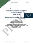 Contoh 1_Cadangan Skrip Jawapan Open Book Test Kertas 3 Sejarah SPM 2014 PPD Kuala Langat