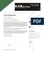 KPLI Malang – Install OS (Hacking) BackBox