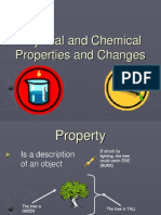 physical and chemical changes and properties notes