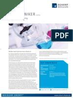 Datenblatt Biotechniker