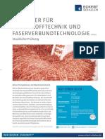 Datenblatt Kunststofftechniker