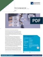 Datenblatt Elektrotechniker