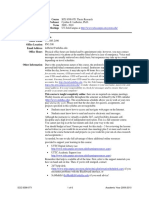UT Dallas Syllabus for sce8398.0t1.10s taught by Cynthia Ledbetter (ledbeter)
