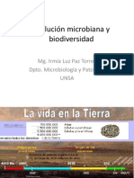 evoluc microbiana y biodiversidad.ppt
