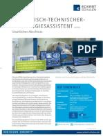 Datenblatt Medizinisch-technischer Radiologieassistent