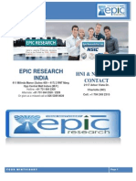 Daily KLSE Malaysia Report by Epic Research Malaysia 15th October 2014