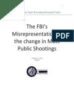FBI Analysis of FBI Mass Public Shootings Report1