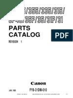 Canon GP_315_335_355 Parts Manual