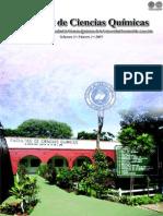 VOL 3 NUM 1 AÑO 2005 - REVISTA FAC CIENCIAS QUIMICAS - PARAGUAY - PORTALGUARANI