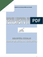 Regulamento Interno BE