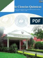 VOL 7 NUM 1 AÑO 2009 - REVISTA FAC CIENCIAS QUIMICAS - PARAGUAY - PORTALGUARANI