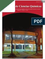 VOL 9 NUM 2 AÑO 2011 - REVISTA FAC CIENCIAS QUIMICAS - PARAGUAY - PORTALGUARANI