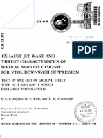 CFD Exhaust jet wake and thrust characteristics of several nozzles designed for vtol downwash supresion nasa report.pdf