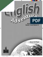 EA Starter a B Assessment Booklet