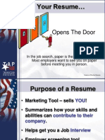 Create an Effective Resume PowerPoint