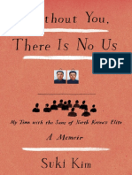 Without You, There is No Us by Suki Kim (Excerpt)