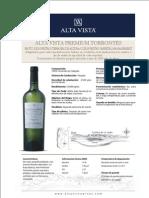 Ficha técnica - Alta Vista Premium Torrontés