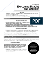 2011guide to exploring majors and careers