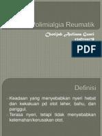 Polimialgia Reumatik - Lia