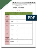 4°Año  FICHA DE INVESTIGACION DEL PRODUCTO SELECCIONADO X GRUPO.docx