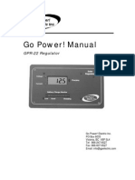 Go Power GPR25 Manual