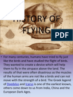 History of Flying