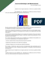 15.- Ing. Lourival A Tavares La Gestión Estratégica-Financiera del Mantenimiento BRASIL.pdf
