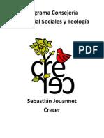 Programa Consejería Territorial Sociales y Teología - Crecer.pdf