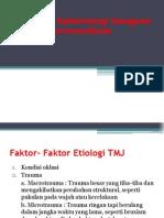 Definisi Dan Epidemiologi Gangguan Sendi Temporomandibular
