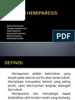 Etiologi Hemiparesis