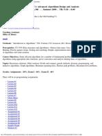 UT Dallas Syllabus for cs4349.5u1.09u taught by Ramaswamy Chandrasekaran (chandra)