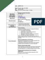 UT Dallas Syllabus for aim3351.5u1.09u taught by Ronald Blair (rblair)