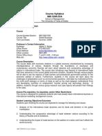 UT Dallas Syllabus for ims5200.59m.09u taught by Habte Woldu (wolduh)