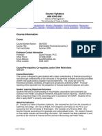 UT Dallas Syllabus for aim6330.0g1.09u taught by Laurel Franzen (laurelf)