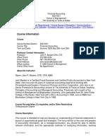 UT Dallas Syllabus for aim6201.0ga.09u taught by John Barden (jpb063000)