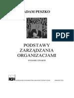 Adam Peszko - PODSTAWY ZARZĄDZANIA ORGANIZACJAMI.pdf