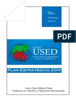 Plan Estratégico Final ONG-USED
