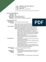 UT Dallas Syllabus for chem2323.0u1.09u taught by   (xct080100)