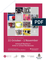 ArtistCall Exhibition Poster