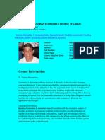 UT Dallas Syllabus for meco6303.5u1.09u taught by Peter Lewin (plewin)
