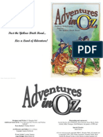 Adventures in Oz - Fantasy Roleplaying Beyond the Yellow Brick Road