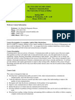 UT Dallas Syllabus for aim3311.003.09s taught by   (jmw087000)