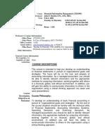 UT Dallas Syllabus for aim3320.002.09s taught by John Barden (jpb063000)