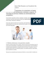 8 Técnicas Para Atraer Más Pacientes a tu Consultorio Sin Gastar Un Solo Centavo.docx