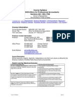 UT Dallas Syllabus for aim6335.p1d.09s taught by Charles Solcher (solcher)