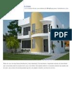 Plano de casa moderna de 161 m2 y de 2 plantas.docx