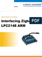 Zigbee Interfacing ARM7 Primer
