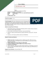 UT Dallas Syllabus for ba3351.001.09s taught by Eugene Deluke (gxd052000)