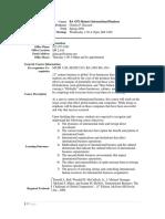 UT Dallas Syllabus for ba4371.hon.09s taught by Charles Hazzard (cxh056000)
