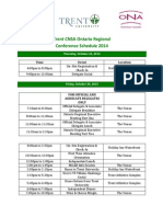 conference schedule 2